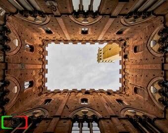 Siena Italy Tuscany Palazzo Pubblico