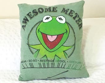 The Muppets KERMIT THE FROG Pillow!