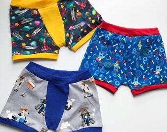 Pair of kids boxers, kids Pants, boxers, kids underwear, one pair,