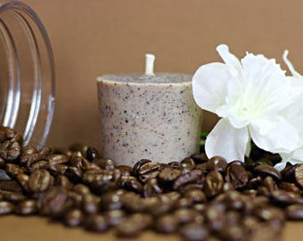 VEGAN Coffee Vanilla Votive