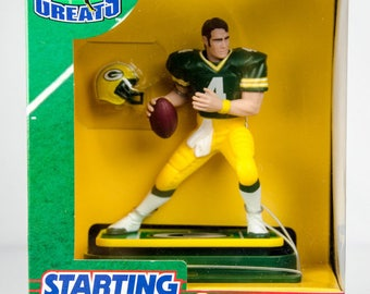 Starting Lineup Gridiron Greats Brett Favre Action Figure Green Bay Packers