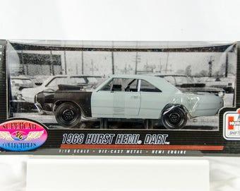 Rare Supercar Collectibles 1968 Hurst Hemi Dart 1/18 Scale Diecast Car