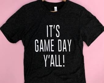 Game Day Shirt, Football Shirt, Baseball Shirt, Game Day Tshirt, Game Shirt, Womens Graphic Tee, Womens Graphic Tank, Tailgate Shirt