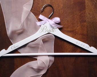 Bridal Hanger, Wedding Hanger, Wedding Dress Hanger