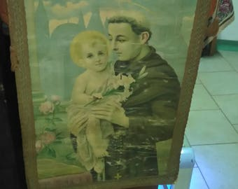 Tapestry/Banner of St Anthony of Padua end 800