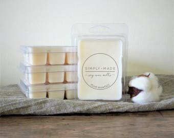 First Snowfall Soy Wax Melts, Scented Wax Melts, Soy Wax Tarts, Soy Melts, Clamshell Melts, Candle Melts