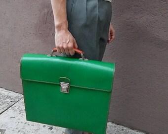 Vintage - design - modern - green school bag office