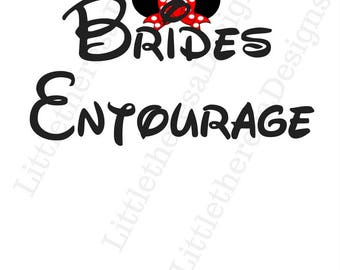 Brides Entourage Wedding Transfer
