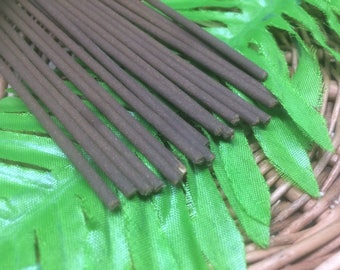 French Vanilla Incense Stick ~ Hand Rolled with Essential Oils ~ 100% Natural Incense Stick