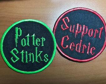 Harry Potter Inspired Triwizard Tournament Iron on Patch