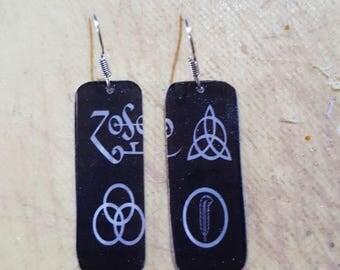 Led zeppelin earrings