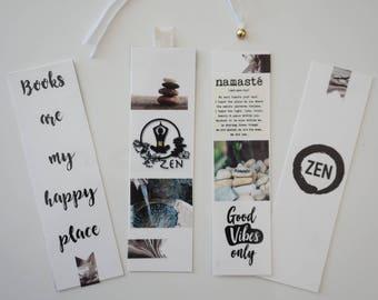 ZEN- Set of 4 Bookmarks