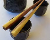 Mesquite wood chopsticks