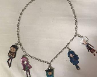 Descendants 2 charm  necklace