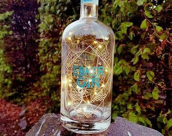 Esker Gin Fairy Light Lamp