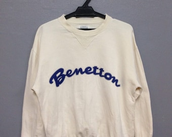 Rare!! Vintage United Colors of Benetton Sweatshirt Size 46