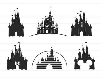 instant download disney castle svg disney svg disney svg files disney clipart