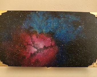 Trifid nebula storage jewellery stash box