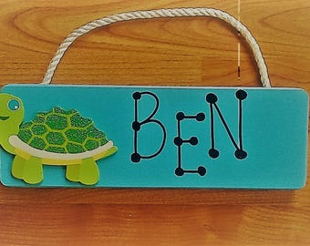 Personalized Children Room Signs