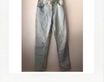 vintage 80s GUESS jeans - light wash, high waist