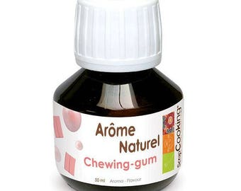 Arôme naturel Chewing gum 50ml - Scrapcooking