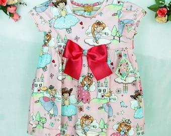 Dress baby pink, baby dress pink girl, birthday dress, dress princesses, pink, fairy, fairy dresses, gift, holiday