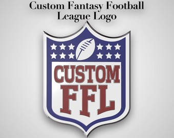 Custom Fantasy Football League Animated 3d Logo Package