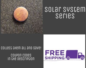 "1"" Venus - Solar System Series Button Pin or Magnet, FREE SHIPPING & Coupon Codes"