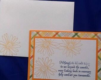 5 sympathy cards