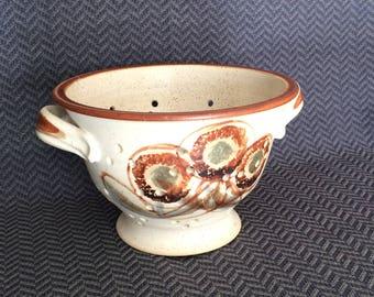 B. Welsh Studio stoneware berry colander strainer