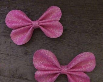 Pink sparkly flutter