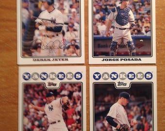 New York Yankee Baseball Cards