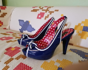 Sailor Heels - Pin Up Couture - Size 10