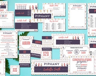 PERSONALIZED Piphany Small Business Marketing Kit, Piphany Bundle, The Whole Marketing Kit, Piphany Marketing KIT, HL08