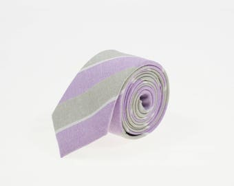 de MORÉ - peaceful striped tie