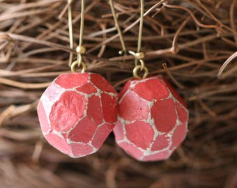 Handmade paper mache etsy for How to make paper mache jewelry