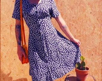 Vintage 1980's floral dress