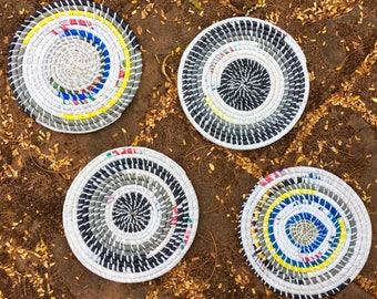 Multi-colored Coasters