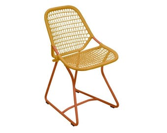 Sixties retro dining chair - Fermob patio chair