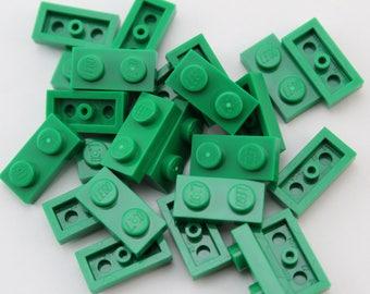 LEGO® Mosaic  Pieces 1x2 (x25) - Green