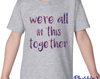 Phish Kid Shirt, We're All In This Together Toddler Shirt, Bathtub Gin Kid Shirt, Bathtub Gin Baby Shirt - Fishman Donuts Shirt