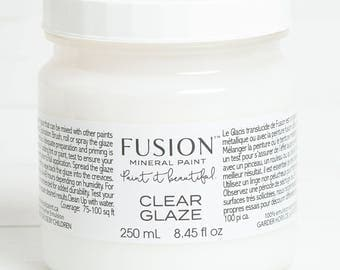 Clear Glaze - 250mL - by Fusion Mineral Paint - eco friendly, no VOC