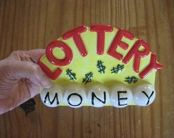 Lottery Money Ceramic Bank