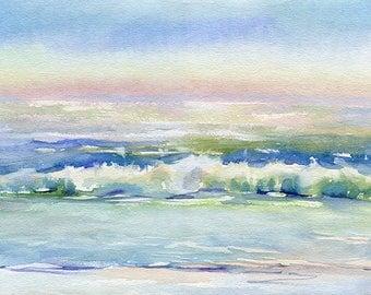 Landscape Original Watercolour Painting Q91