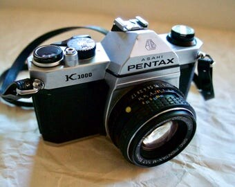 Pentax K1000 35mm Vintage Film Camera