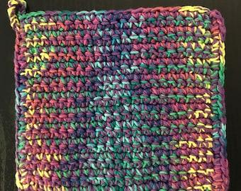 Medium Size Crochet Pot Holder