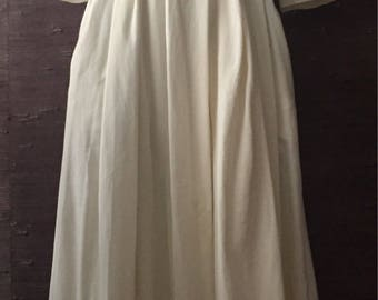 """BOHO Paris """"first rendezvous"""" street style long dress with embroidery size small"""