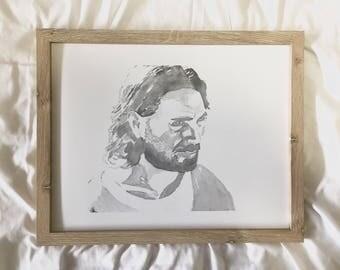 Christ Watercolor PRINT