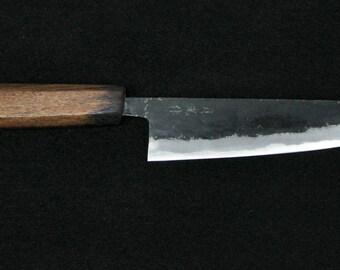 Moonlight black Pat culture knife 170 mm teak pattern 1631