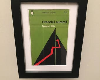 Classic Penguin Book cover print- framed - Dreadful Summit